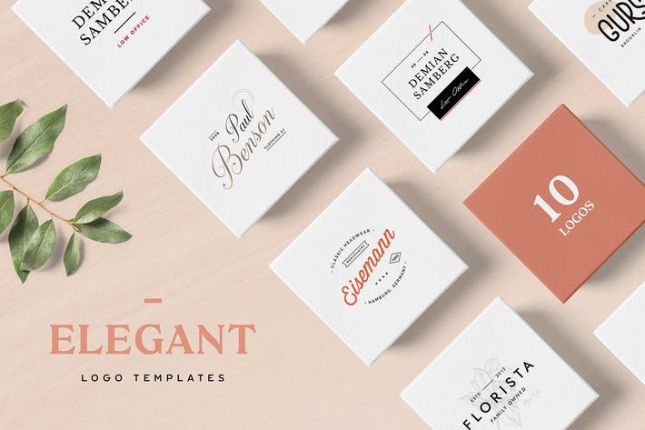 Thumbnail for Elegant Logo Templates