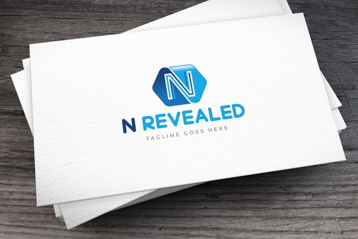 Thumbnail for Letter N Logo Template