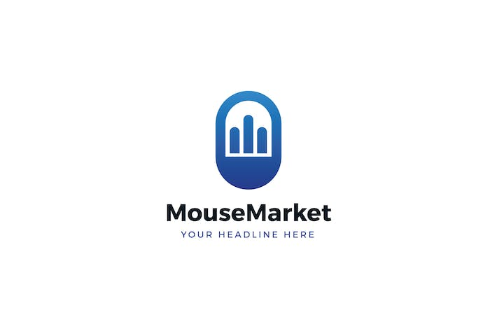 Thumbnail for Mouse Market Logo Template