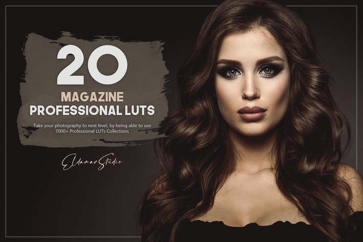 20 Magazine LUTs Pack