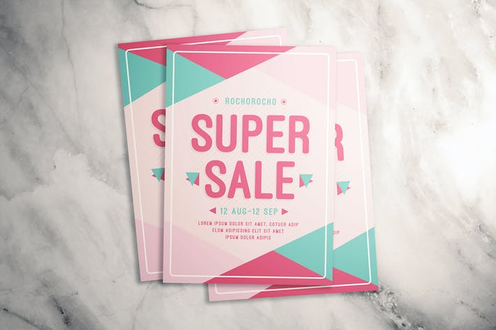 Cover Image For Super Sale Flyer