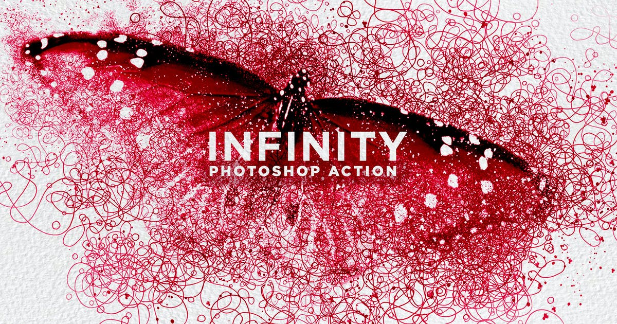 Download Infinity-Infinite Line Photoshop Action by walllow