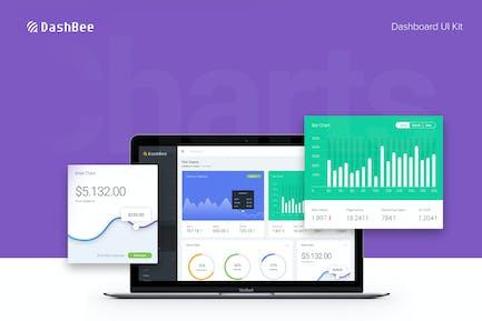 DashBee - Kit d'interface utilisateur pour tableau de bord CMS