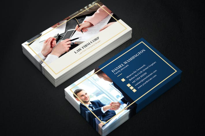 Thumbnail for Business Card – Law Firm