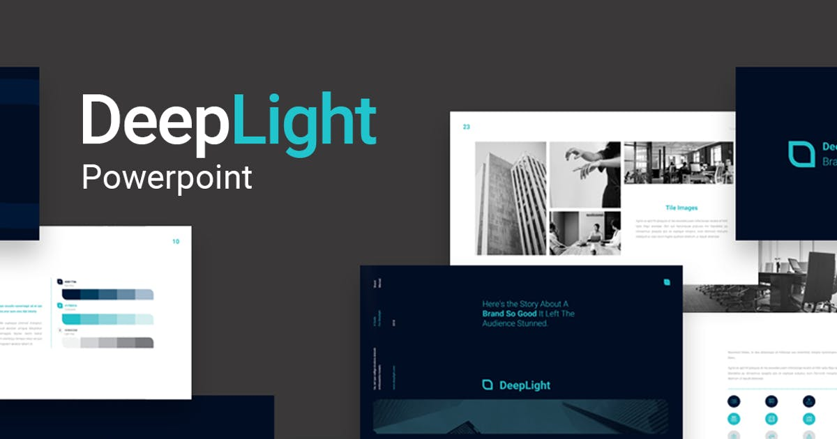 Download Deeplight Powerpoint by visuelcolonie