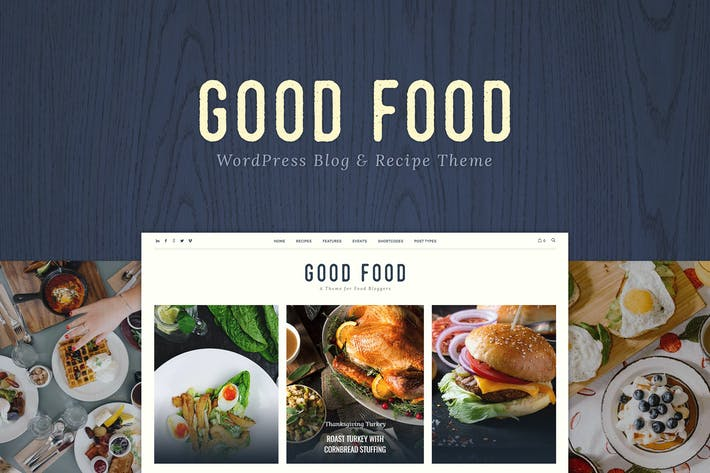 Thumbnail for Good Food - Recipe Magazine & Food Blogging Theme