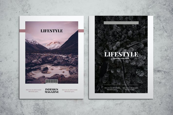 Thumbnail for Lifestyle Indesign Magazine Template