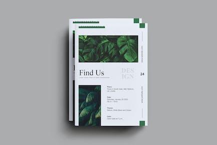 Leafy Brochure Template