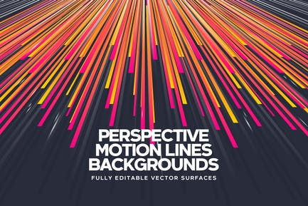 Perspective Motion Lines Backgrounds