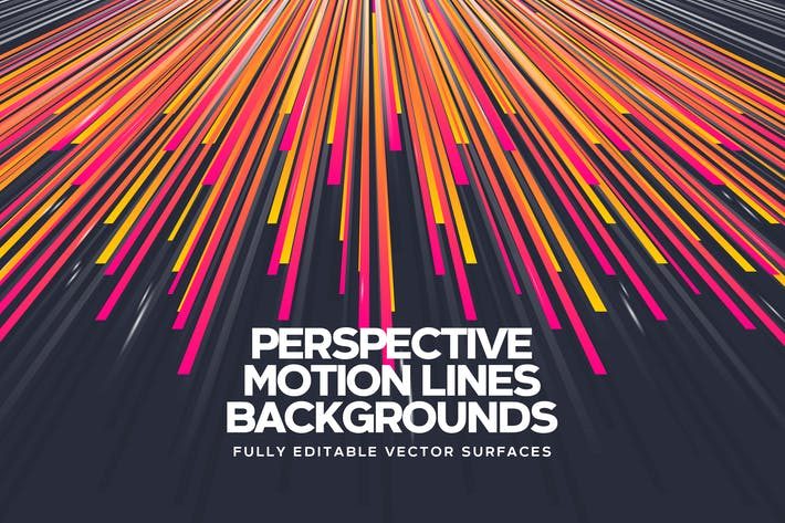 Thumbnail for Perspective Motion Lines Backgrounds