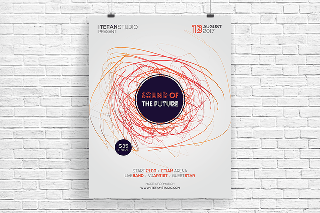 Sound Of The Future Flyer