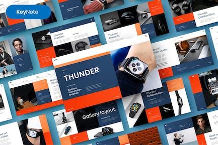 Thunder – Business Keynote Template