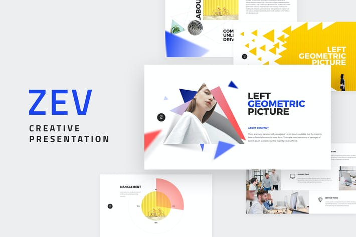 Thumbnail for ZEV - Powerpoint Template