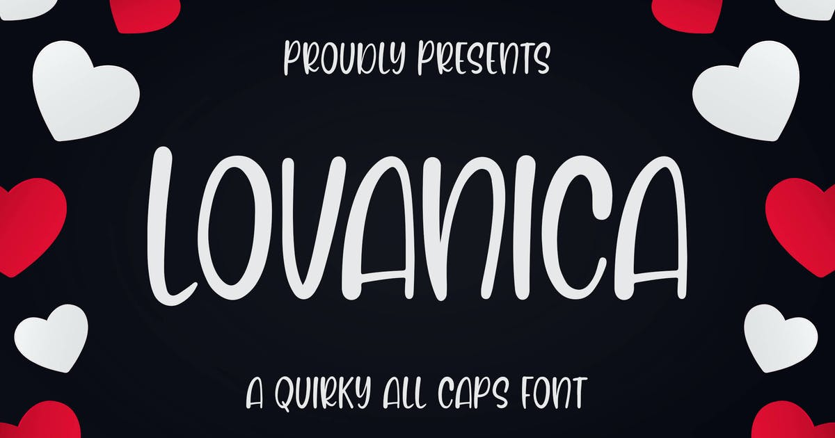 Download Lovanica - a Quirky Font by Blankids