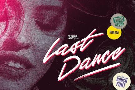 Последний танец - Ретро 80-х годов фильм Вдохновленный скрипт