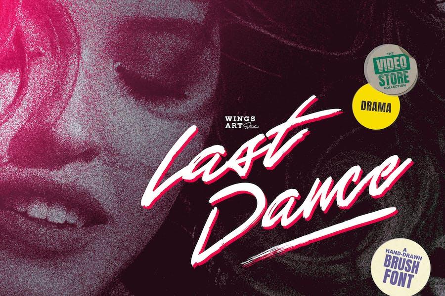Last Dance - Retro 80s Movie Inspired Script Font