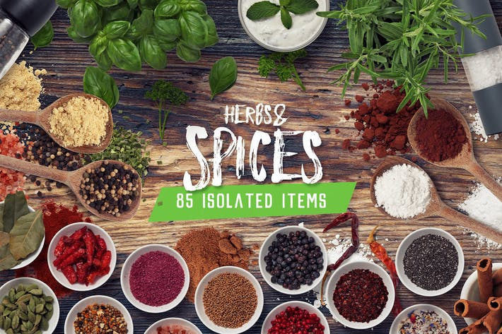 Thumbnail for Kitchen Scene Gen. - Herbs & Spices