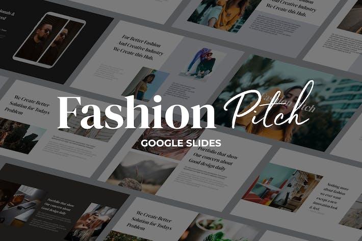 Thumbnail for Fashion Pitch - Google Slides Vorlage
