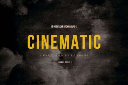 Cinematic Grunge Sky Backgrounds