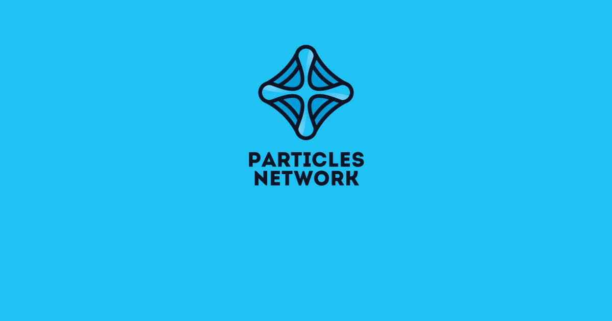 Download Particles Network Logo Template by Ijajil