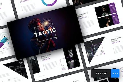 Tactic - Creative Keynote Template