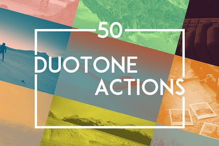 50 Duotone Actions