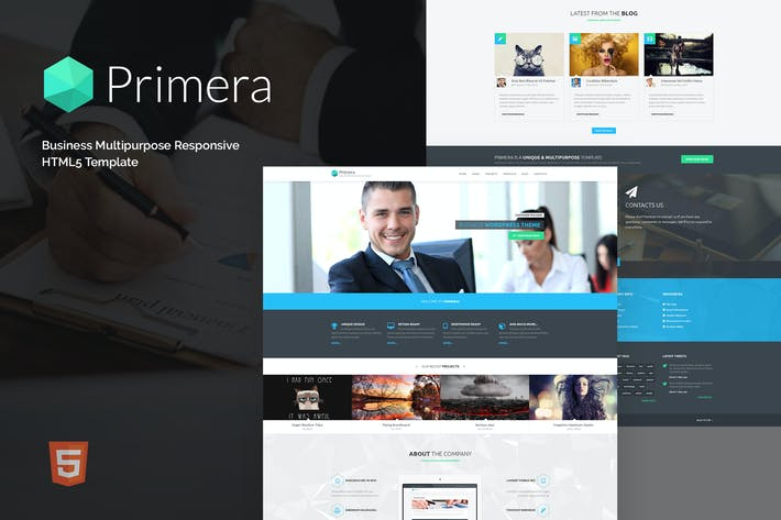Thumbnail for Primera - Business Multipurpose Responsive HTML5 T
