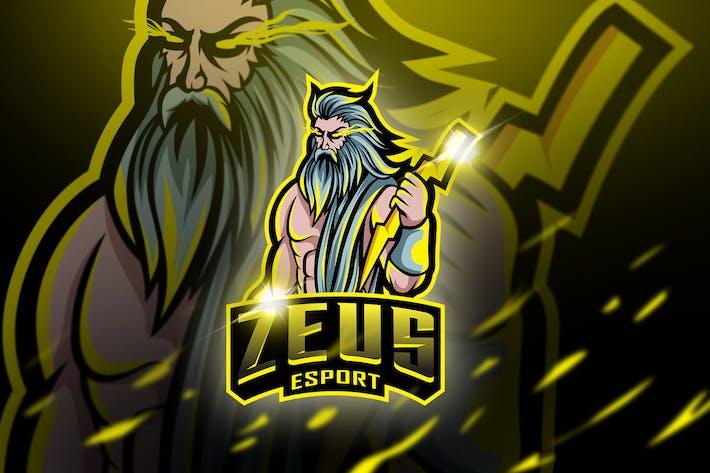 Thumbnail for Zeus - Mascot & Esport Logo