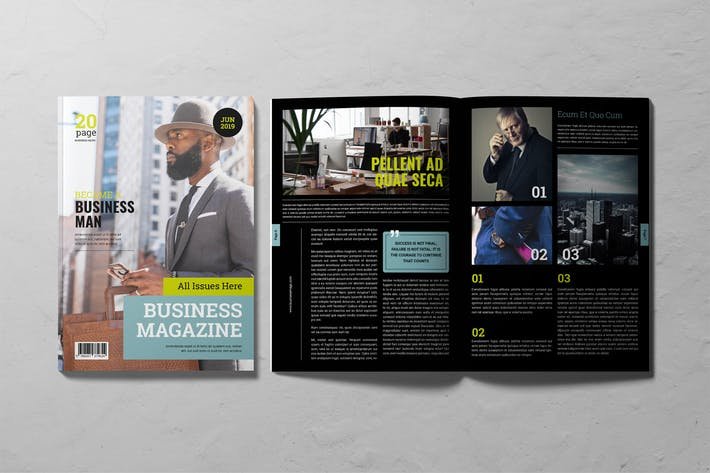 Thumbnail for Business Magazine Entrepreneur's Journal