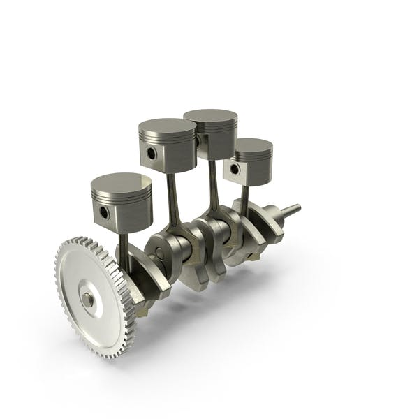 Thumbnail for Engine Piston and Crankshaft