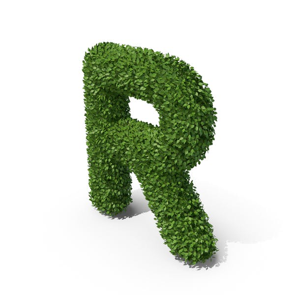 Thumbnail for Hedge Shaped Letter R