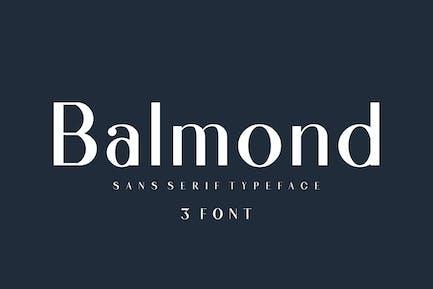 Balmond Sans Serif 3 font