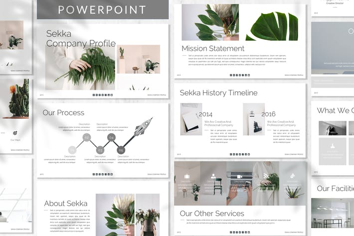 Thumbnail for Sekka - Business Powerpoint Template