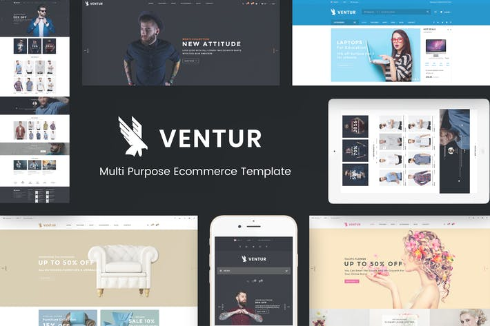 Thumbnail for Ventur - Fashion OpenCart Theme