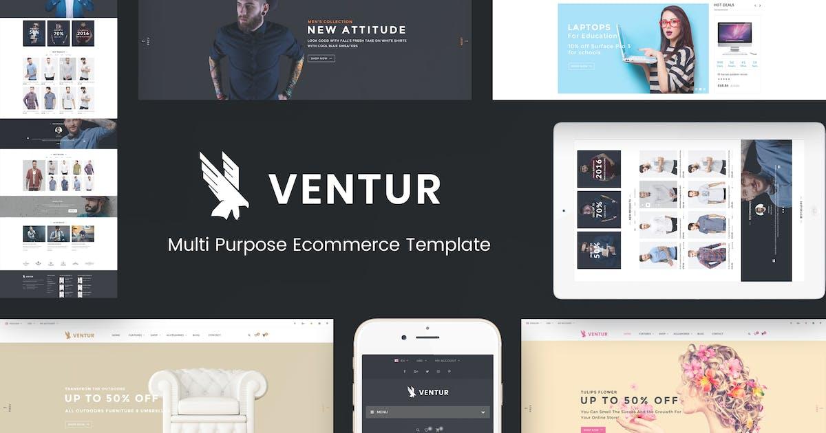 Download Ventur - Fashion OpenCart Theme by Plaza-Themes
