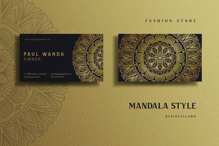 Mandala Style Fashion Store - Businesscard