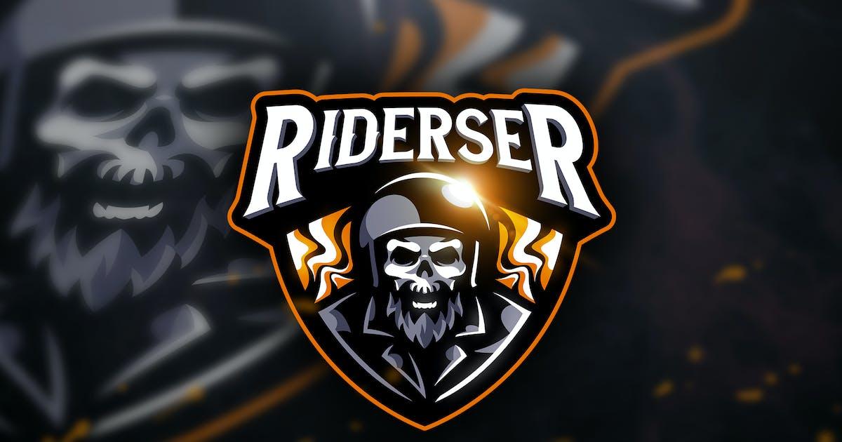 Download Riderser - Mascot & Sport Logo by aqrstudio