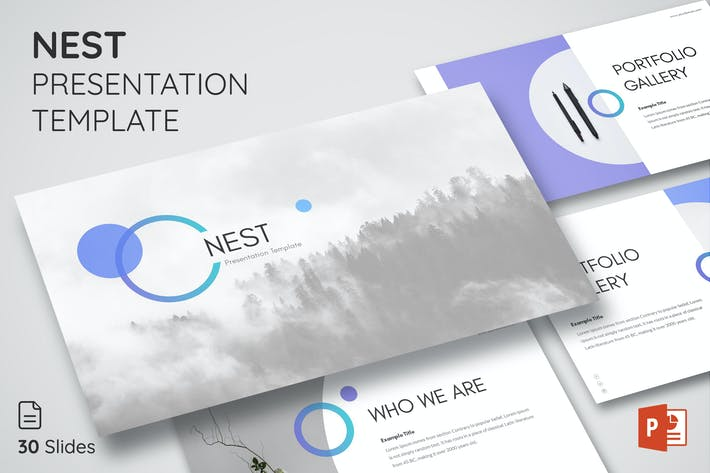 Thumbnail for Nest - Powerpoint Presentation Template