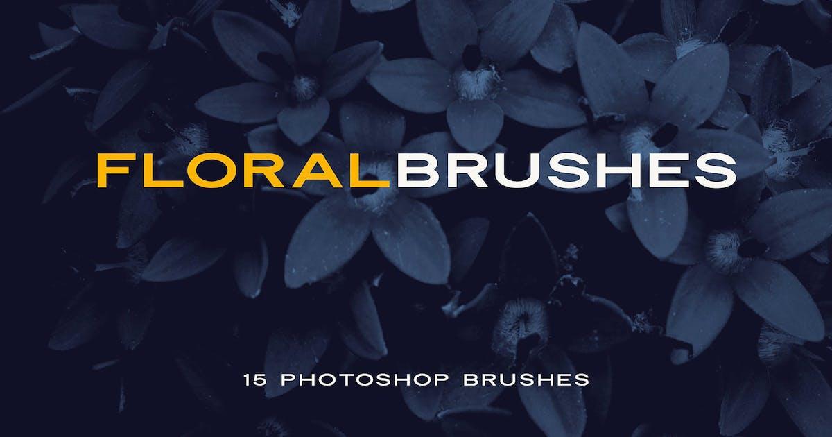 Download Elegant Floral Brushes for Photoshop by Oxana-Milka