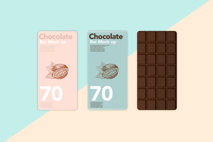 Chocolate Scenes Template Mock Up