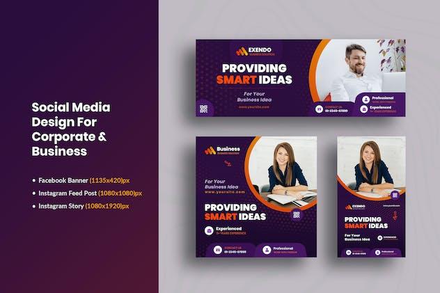 Promotional Business & Corporate Social Media Kit