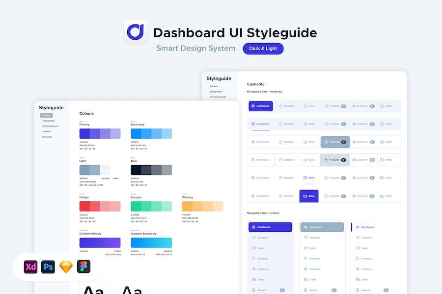 Dashboard UI Styleguide