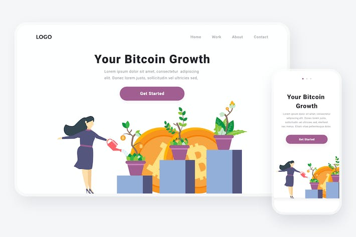 Thumbnail for Bitcoin growth illustration