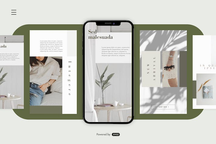 Thumbnail for Instagram Story Template vol.1