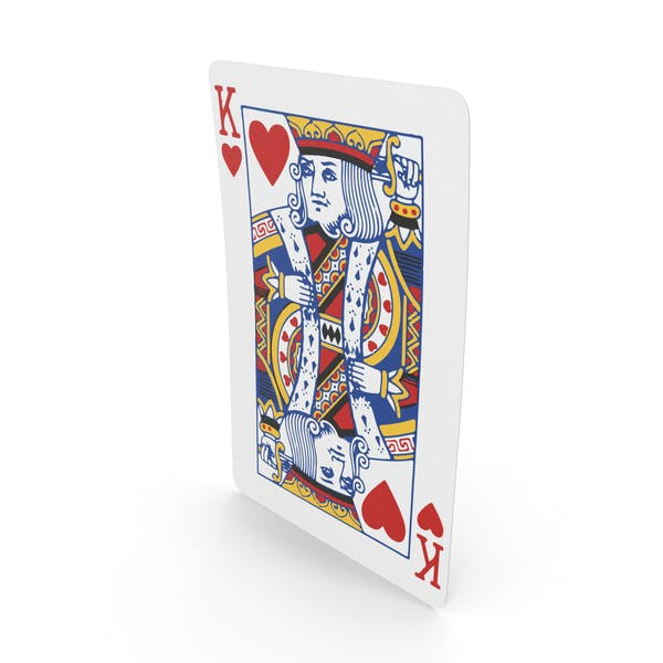 Playing Cards King of Hearts