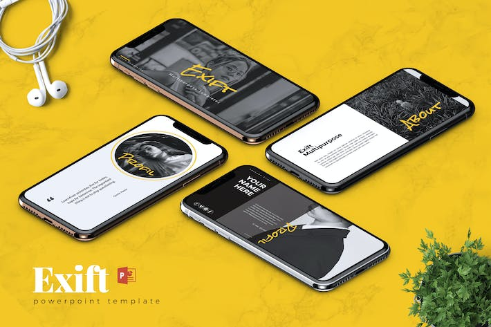 Thumbnail for EXIFT - Creative Powerpoint Template