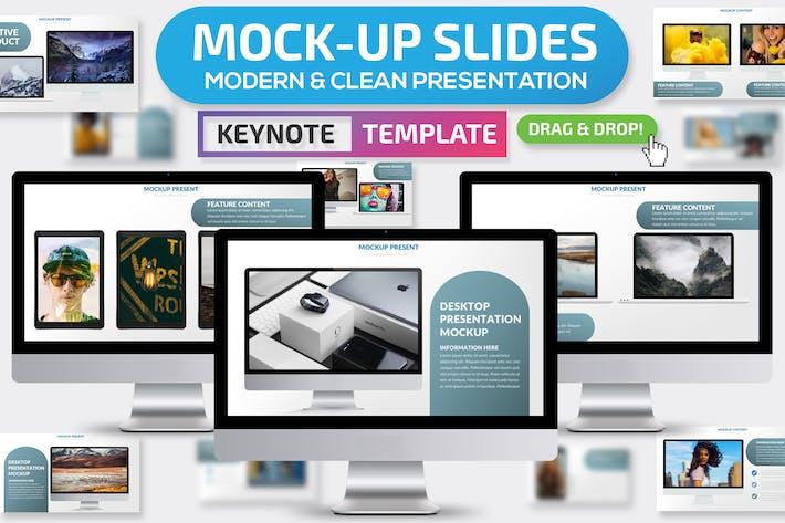 Mock-up Keynote Presentation Template