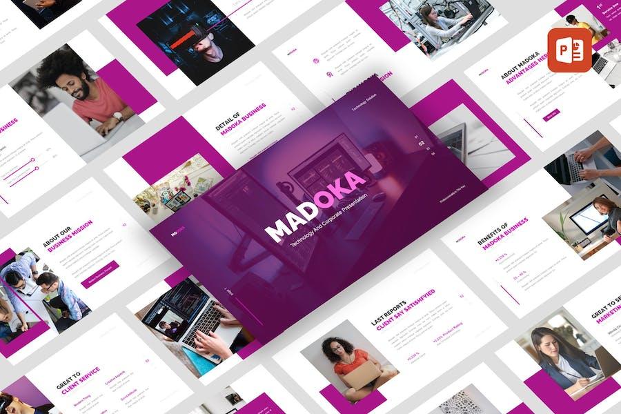 Madoka - Technology Corporate PowerPoint Template