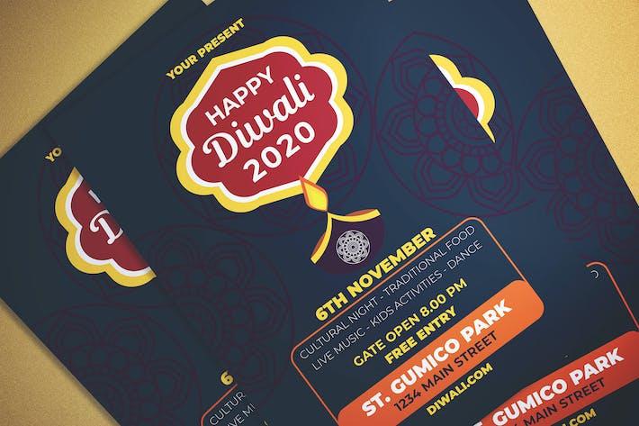 Thumbnail for Happy Diwali dépliant