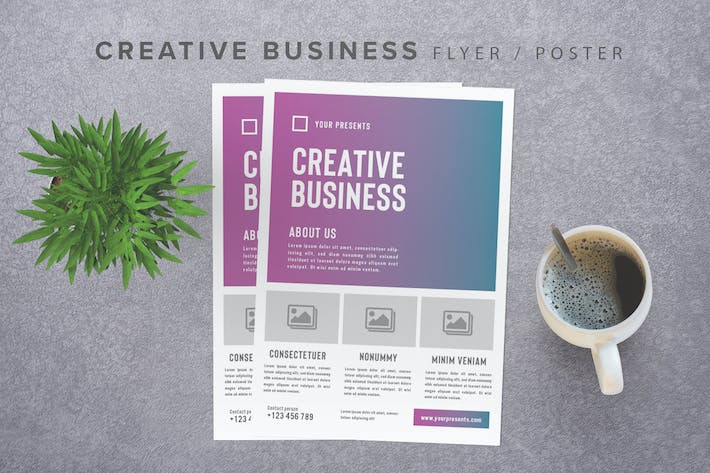 Cover Image For Creative Business Flyer